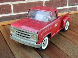 Vintage 1960's Tonka Step Up Pickup Truck Pressed Steel Red ...