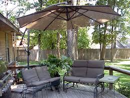 Offset Patio Umbrellas Everything Home Design Best Cantilever