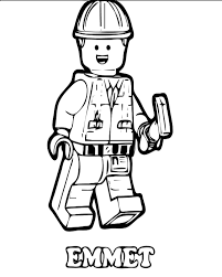 Lego Movie Coloring Pages Printable