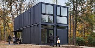100 Shipping Containers For Sale New York MB Architecture Sets A Prefabricated Container In Bard