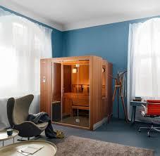 sauna für die wohnung wenn die schwitzkabine im wohnzimmer