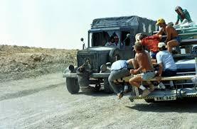 Filming The Famous Truck Stunt In