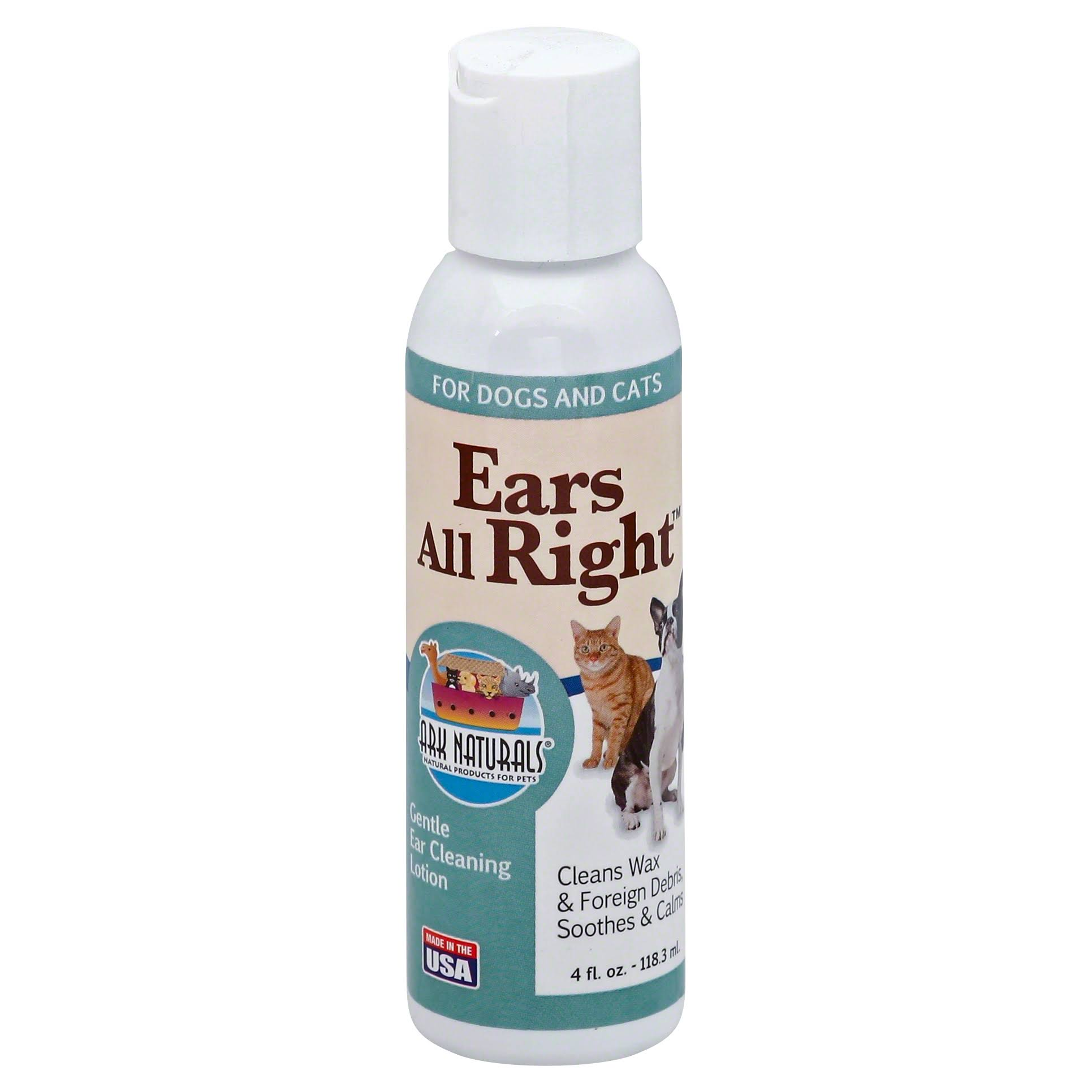 Ark Naturals Ears All Right Cleaning Lotion
