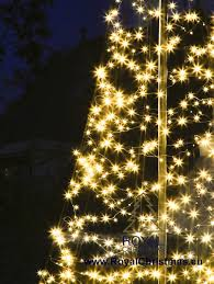 Flagpole Christmas Tree Lighting 6 M 20 Ft