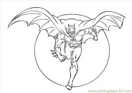 Batman Coloring Pages 2 Dark Knight Rises
