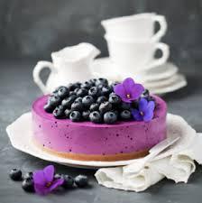 Vegan No Bake Blueberry Cheesecake
