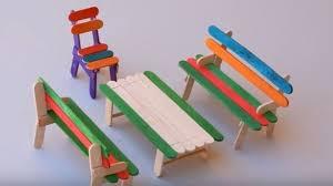 Ice Cream Stick Crafts For Kids