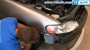 how to install replace headlights nissan altima 00 01 1aauto