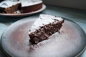 torta caprese italienischer schokoladen mandel kuchen