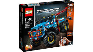 LEGO Technic 6x6 All Terrain Tow Truck - 42070 | East Coast Radio ...