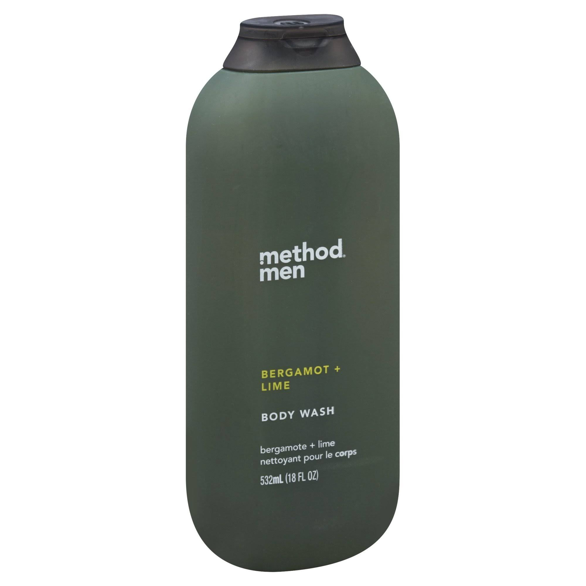 Method Body Wash, Men, Bergamot + Lime - 532 ml