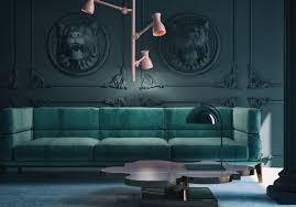 einrichtungsideen wohnzimmer blau caseconrad