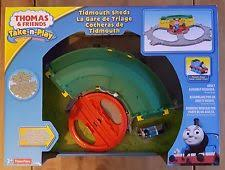 Tidmouth Sheds Trackmaster Ebay by Thomas And Friends Trackmaster Tidmouth Sheds Playset Ebay