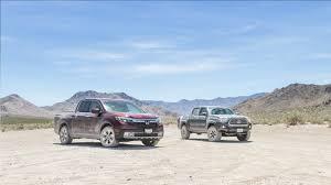 100 Truck Vs Car Death Valley Torture Test 2017 Honda Ridgeline RTLE Vs 2016