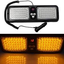 Car Boat 12 Mode 86 LED Emergency Warning Visor Police Strobe Light ... Light Truck Strobe Ford Expands Firstever Factoryinstalled Warning Led Lights 12v 24v 18w 6 Waterproof Car Emergency Beacon Cyan Soil Bay 4 Rv Flash Bar 2016 F150 Adds Builtin For Fleet Vehicles Hideaway Automotives Hideaway Mini Vehicle Trailer Round Led For Trucks 4428 Watch Now Accsories 54 Blue Red Nwhosale New 2 X 48 96led Flashing 4led 19 Function Parts 26422rd Recon 2x22 Flasher Lamp Bars With