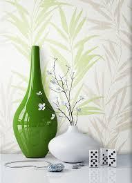 newroom vliestapete blumentapete grün wallpaper floral blumen tapete pflanzen wohnzimmer schlafzimmer büro flur kaufen otto