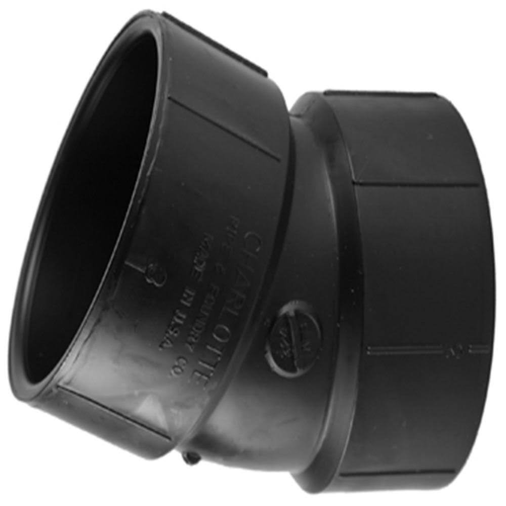Charlotte Pipe Elbow - Black