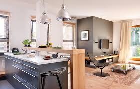 küche mit mittelblock und bild kaufen 11331502