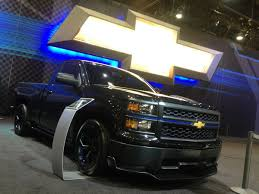 Chevy Booth Trucks At The 2013 Sema Show - Truckin Magazine