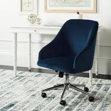 Safavieh Adrienne Navy/Chrome Velvet Swivel Office Chair ... 81 Home Depot Office Fniture Nhanghigiabaocom Mesh Seat Office Chair Desing Flash Black Leathermesh Officedesk Chair In 2019 Home Desk Chairs Allanohareco Swivel Hdware Graciastudioco Casual Living Worldwide Recalls Swivel Patio Chairs Due To Simpli Dax Adjustable Executive Computer Torkel Bomstad 0377861 Pe555717 Hamilton Cocoa Leather Top Grain Fabric Wayfair High Back Gray Fabric White Leathergold Frame