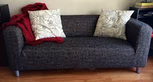 klippan 2 seater sofa slipcover beautiful custom slipcovers