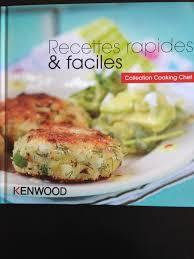 livre de cuisine cooking chef recettes rapides et faciles collection cooking chef sevencuisine