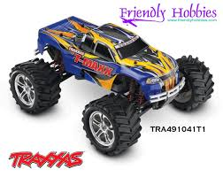 100 Traxxas Nitro Rc Trucks 110 TMaxx 4WD Monster Truck Blue Black Red White