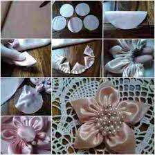 Flower Step By Diy Tutorial Picture Rhhowtoinstructionsorg How To Make Handmade Flowers From Fabric
