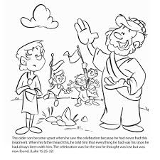 Prodigal Son Coloring Page Free Pages