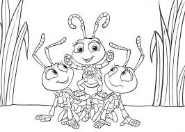 A Bugs Life Coloring Pages