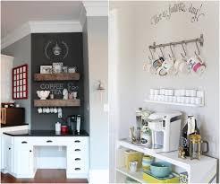 support mural cuisine idée déco cuisine pour les passionnés de café 25 exemples cool
