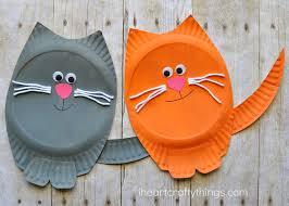 Paper Plate Cat Craft 3
