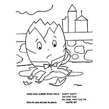Humpty Dumpty Coloring Pages
