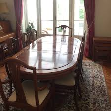 Solid Rosewood Extendable 8 Person Dining Table And Chairs Originally Imported From Hong Kong