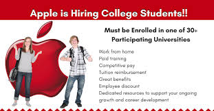 Apple Jobs for College Students Work from Home Real Work From