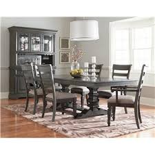 Seven Piece Dining Room Set by Standard Furniture Garrison Traditional Seven Piece Dining Set