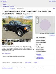 Think You Would 'Pick Up' This Sweet 1986 Toyota SR5 4x4 Pickup For ... Craigslist Denver Youtube Queen Anne Seattle Luxury Rentals South Dakota Qq9info Is This A Truck Scam The Fast Lane Semi For Sale Classic 1959 El Camino Craigslist Scam Ads Dected On 022014 Updated Vehicle Scams Augusta Ga Cars And Trucks By Owner Best Car 2018 Tacoma Dating Teachersusablega San Diego Used For Inspirational Would You Do Tacoma Wa Garage Salescraigslist