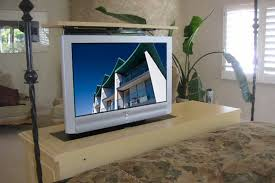 Hidden TV within furniture Entertainment Technology