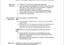 Engineering Skills Resume From What To Put In For
