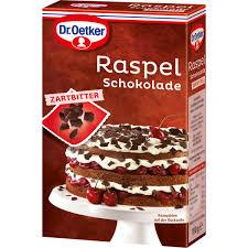 dr oetker raspelschokolade zartbitter mpreis shop