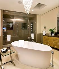 Modern Chandelier Over Bathtub by How To Choose The Lighting Fixtures For Your Home U2013 A Room By Room