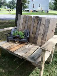 Plans For Pallet Patio Furniture by 235 Best Recycled Pallet Furniture Ideas Plans Images On Pinterest