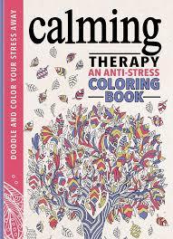 Flip Through Calming Therapy Coloring Book An Anti Stress