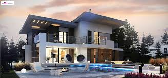100 Modern Two Storey House Design Zx22 A Modern Twostorey House With Garage Terrace A