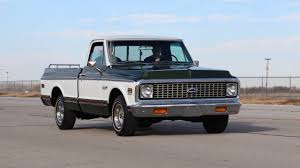 Relive The History Of Hauling With These 6 Classic Chevy Pickups 1971 Chevrolet C150 Rollback Truck Item C9743 Sold Wedn C10 Cheyenne By Haseeb312 On Deviantart Truck For Sale At Copart Lexington Ky Lot 45971118 Ck Near Cadillac Michigan 49601 Pickup Restored Small Block V8 Sold Utility Rhd Auctions 18 Shannons Fast Lane Classic Cars K20 F45 Indy 2014 Leaded Gas Classics J90 Dump