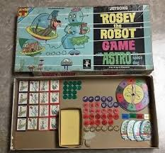 2 Of 6 Vintage 1962 Transogram Board Game The Jetsons Rosey Robot Astro Space Dog
