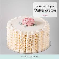 rezept für swiss meringue buttercream