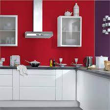 idee mur cuisine mur couleur framboise 2017 avec cuisine indogate peinture