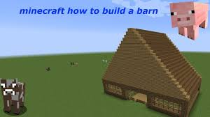Minecraft How To Build A Barn Tutorial (easy) - YouTube The City Of Industry Feed The Beast Garage Design Pole Barn Interior Metal House Medieval Minecraft Project My Single Player Barn And Silos I Wanted U Guys To Be First Tutorial How To Make A Cow Youtube Damis Two Story Plans Blueprints Iranews Large Vip Rustic Build Part 1 Letsbuild