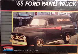 100 1955 Ford Panel Truck Revell Bootlegger 125 New 1987 Factory